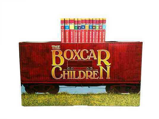 Boxcar Mysteries Bookshelf By Warner, Gertrude Chandler